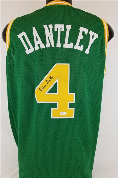 Lot Detail - Adrian Dantley Signed Utah Jazz Custom Jersey (JSA ... 59b8769bc