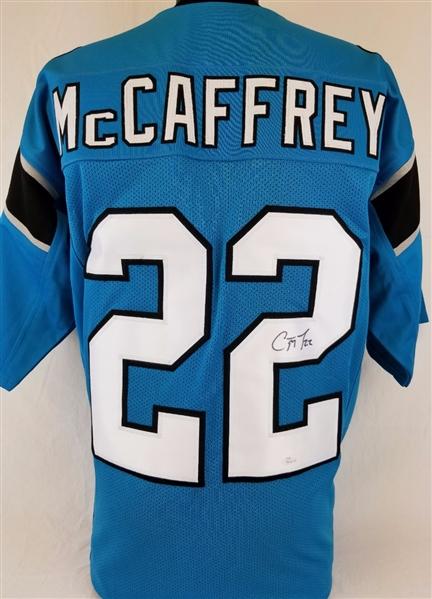 best website f4b75 97e30 Lot Detail - Christian McCaffrey Signed Carolina Panthers ...