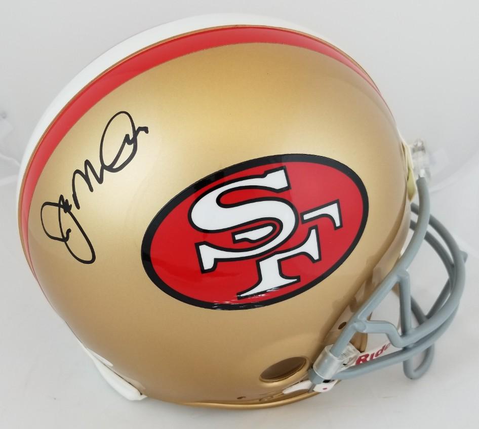 7c3e7a7fe Joe Montana Signed Full Size Authentic Proline 49ers Helmet (JSA COA    Montana Hologram). Hover to zoom