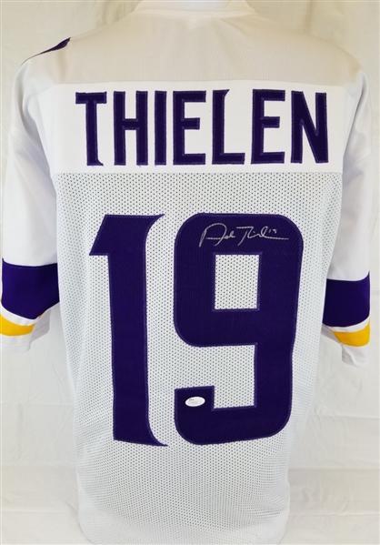 the latest 4c447 72074 Lot Detail - Adam Thielen Signed Minnesota Vikings Custom ...