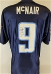 Steve McNair (deceased 2009) Signed Tennessee Titans Jersey (JSA COA)