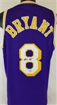 Kobe Bryant Signed Los Angeles Lakers Custom Jersey with Vintage Signature (PSA/DNA COA)