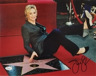 Jane Lynch Signed Hollywood Star Walk of Fame 11x14 Photo (JSA COA)