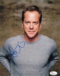 Kiefer Sutherland Signed 24 Jack Bauer 8x10 Photo (JSA COA)