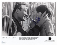 Jimmy Smits Signed My Family 8x10 Photo (JSA COA)