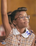 Marsai Martin Signed An American Girl Story 8x10 Photo (PSA/DNA COA)