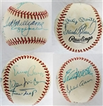 500 Home Run Club Signed ONL Baseball - 11 Signatures Including Mantle, Williams, Aaron & Mays (JSA LOA)