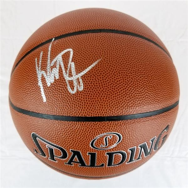 15bfe7e20d9e1 Lot Detail - Klay Thompson Signed Spalding I/O Basketball (JSA COA)