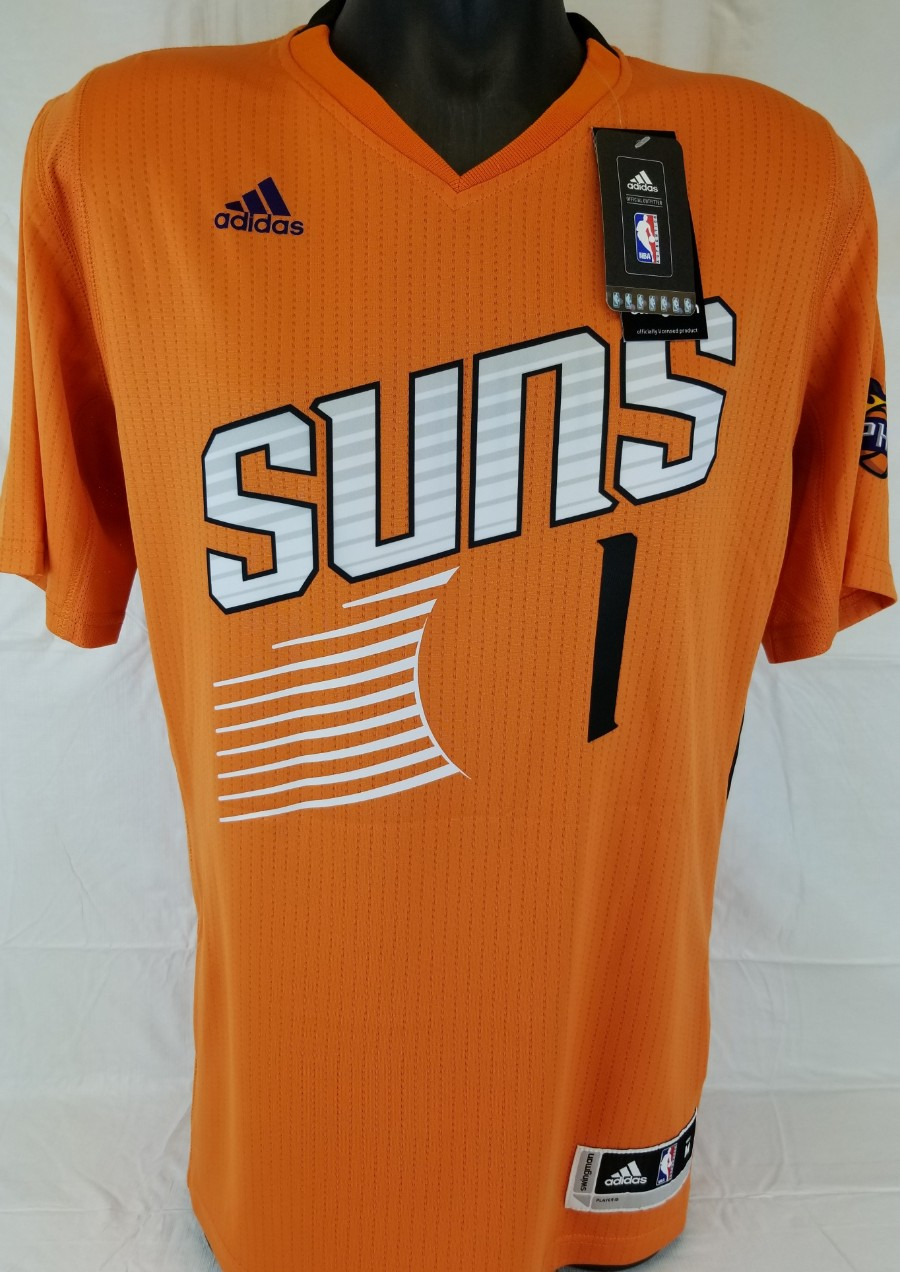 quality design 04b91 32763 Lot Detail - Devin Booker Signed Phoenix Suns Adidas ...