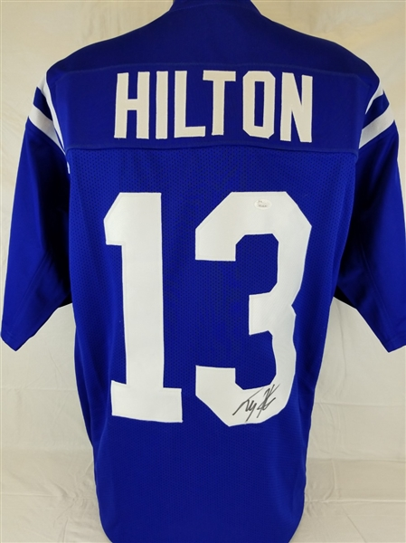 Lot Detail T.Y. Hilton Signed Indianapolis Colts Custom Jersey