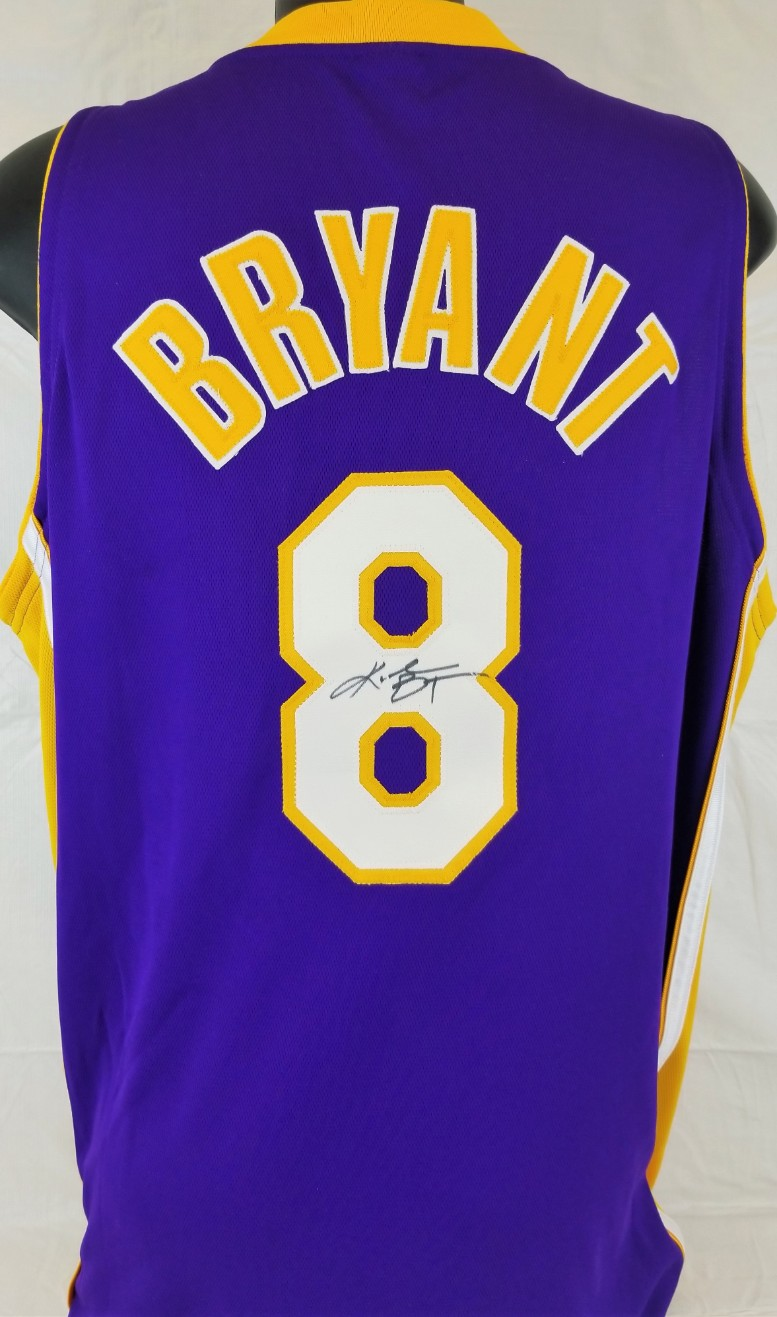 5ef9d7c378c Kobe Bryant Signed Vintage Full Name Signature Los Angeles Lakers Jersey  (PSA ITP COA)