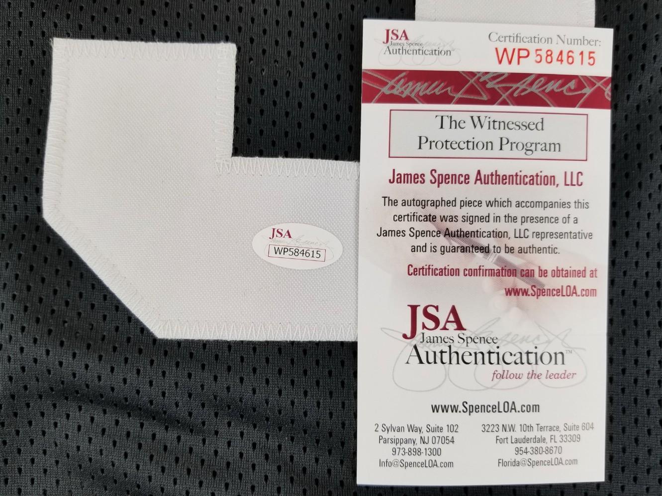 2b0e9991e Greg Lloyd Signed Pittsburgh Steelers Custom Jersey (JSA Witness COA). Prev  Next