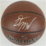 Donovan Mitchell Signed Spalding Indoor/Outdoor Basketball (JSA COA)