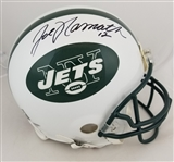 "Joe Namath ""12"" Signed Authentic Full Size New York Jets Proline Helmet (UDA & Steiner COAs)"