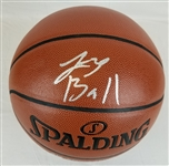 Lonzo Ball Signed Spalding Indoor/Outdoor Basketball (Beckett Witness COA)