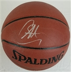 Stephen Curry Signed Spalding Indoor/Outdoor Basketball (PSA/DNA COA)