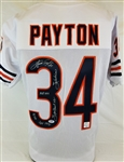 Walter Payton Signed Chicago Bears Custom Jersey w/ 5 Inscriptions! (PSA/DNA LOA)