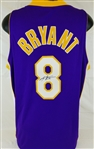 Kobe Bryant Signed Vintage Full Name Signature Lakers Authentic Nike Jersey (PSA ITP COA)