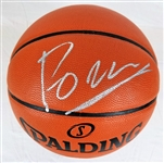 Kristaps Porzingis Signed Spalding Replica NBA Game Basketball (JSA COA)