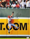 Mike Trout Signed Los Angeles Angels 11x14 Photo (JSA COA)