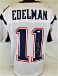 Julian Edelman Signed New England Patriots Custom Jersey (JSA Witness COA)