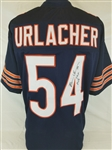 "Brian Urlacher ""HOF 2018"" Signed Chicago Bears Custom Jersey (JSA Witness COA)"