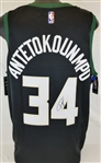 Giannis Antetokounmpo Signed Milwaukee Bucks Nike Swingman Jersey (JSA COA)