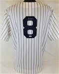 Yogi Berra Signed New York Yankees Replica Majestic Jersey (PSA/DNA COA)