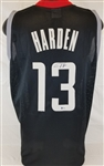 James Harden Signed Houston Rockets Custom Jersey (Beckett Witness COA)