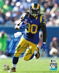 Todd Gurley Signed Los Angeles Rams 8x10 Photo (Beckett Witness COA)