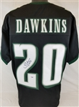 Brian Dawkins Signed Philadelphia Eagles Custom Jersey (PSA/DNA COA)