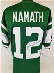 Joe Namath Signed New York Jets Custom Jersey (JSA COA)