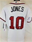 Chipper Jones Signed Authentic Majestic Atlanta Braves Jersey (JSA COA)