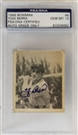 Yogi Berra Signed 1948 Bowman #6 Rookie Card w/ Graded Gem Mint 10 Autograph! (PSA/DNA)