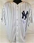 "Mariano Rivera ""Enter Sandman"" Signed New York Yankees Majestic (Steiner COA)"