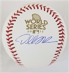 Dallas Kuechel Astros Signed Official 2017 World Series Baseball (Tristar COA)