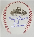 "Tony LaRussa ""2011 WS Champs"" Signed Official 2011 World Series Baseball (JSA Witness COA)"