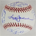 1978 New York Yankees Team Signed OML Baseball w/ Reggie Jackson & 19 Others (JSA LOA)