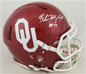 "Baker Mayfield ""HT 17"" Signed Full Size Authentic Oklahoma Speed Helmet (JSA Witness COA)"