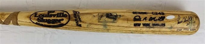 "Paul ONeill ""Game Used 2000"" Signed Louisville Slugger Game Used Bat (Steiner COA)"