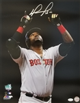 David Ortiz Signed 500th Home Run Boston Red Sox 16x20 Photo (JSA Witness COA)