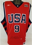 LeBron James Signed Reebok USA Basketball Jersey Lmt Ed. 92/123 (UDA COA)