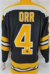 "Bobby Orr ""3X MVP"" Signed Authentic CCM Vintage Hockey Bruins Jersey (JSA & GNR COAs)"