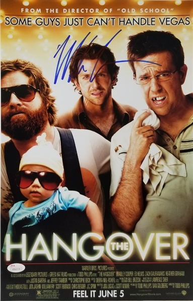 Mike Tyson Signed 11x17 The Hangover Movie Photo (JSA Witness COA)