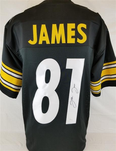 432273fc5a8 Jesse James Signed Pittsburgh Steelers Custom Jersey (JSA Witness COA)