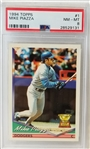 Mike Piazza 1994 Topps #1 Rookie Card Graded NM-MT 8.0 (PSA/DNA)