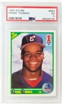 Frank Thomas 1990 Score 1st Round Pick #663 Graded EX 5.0 Rookie Card (PSA/DNA)