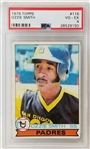 Ozzie Smith 1979 Topps #116 Rookie Card Graded VG-EX 4.0 (PSA/DNA)