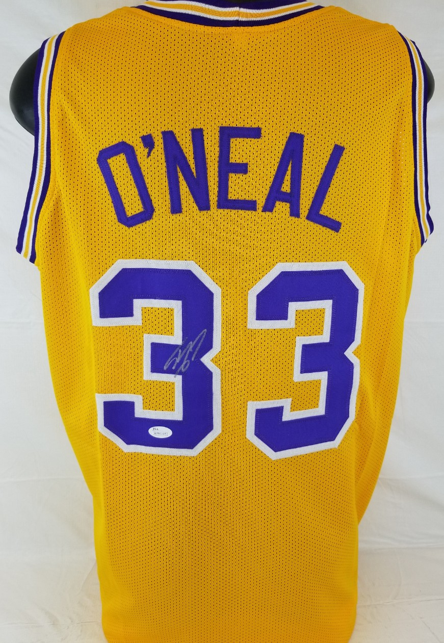 1ad788cb857 Shaquille ONeal Signed LSU Tigers Custom Jersey (JSA Witness COA). Hover to  zoom