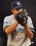 Mike Mussina Signed New York Yankees 16x20 Photo (JSA COA)